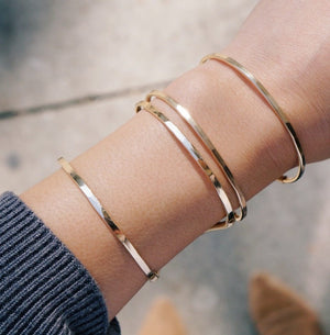 Narrow Stacking Cuff