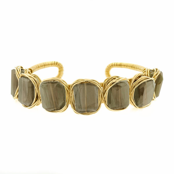 Lots O' Rock 7-Stone Nest Cuff