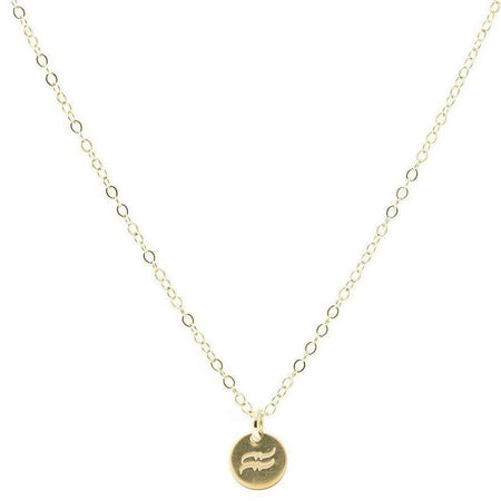 JB Alphabet Charm Necklace