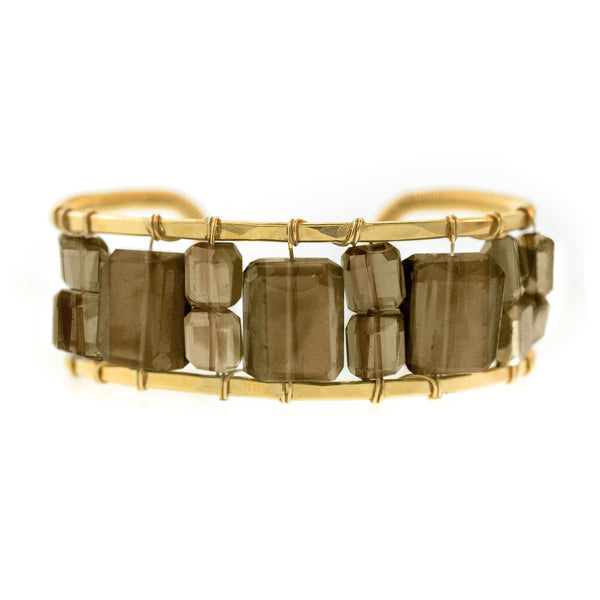 Lots O' Rock Mixed Stone Cuff