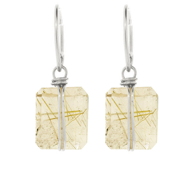 Lots O' Rock Nugget Earrings