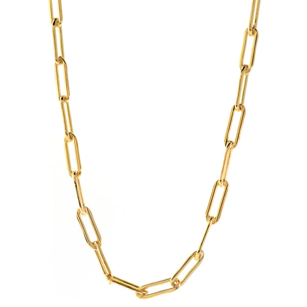 Paperclip Necklace in 14K Gold-filled