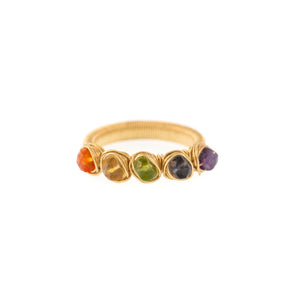 Rainbow 5-Stone Mila Ring