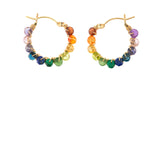 Rainbow Courtney Hoops