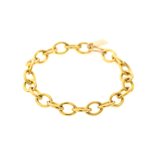 Heavy Link Bracelet in 14K Gold-filled