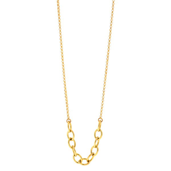Heavy Link Lasso Necklace