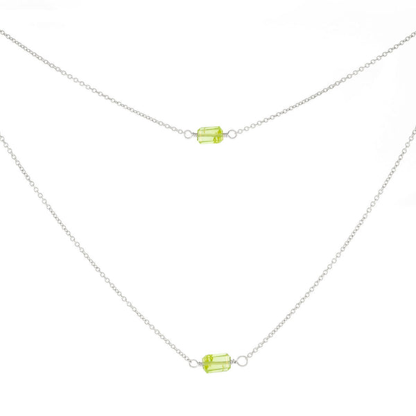 1-Stone Mini Rocks Necklace