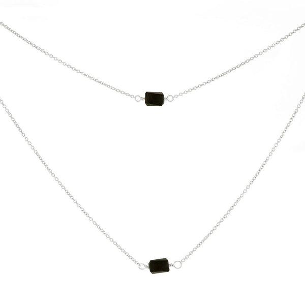 1-Stone Mini Rock Necklace