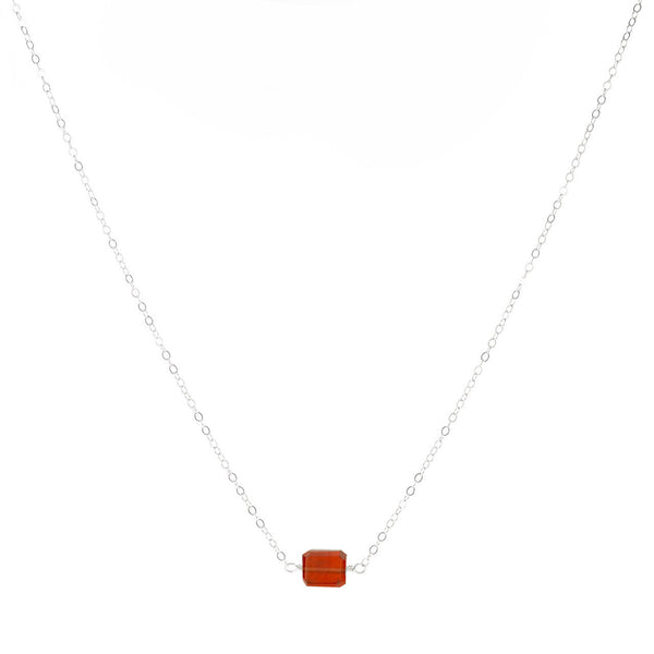 1-Stone Petite Rock Necklace