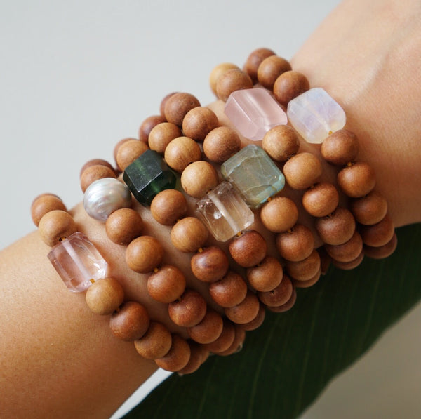 Lots O' Rock Sandalwood Bracelet