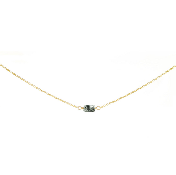 1-Stone Mini Rock Choker