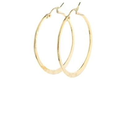 Medium Textured Hoops- QUICK SHIP