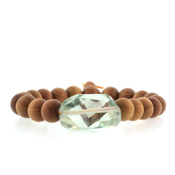 Rock Star Sandalwood Bracelet- QUICK SHIP