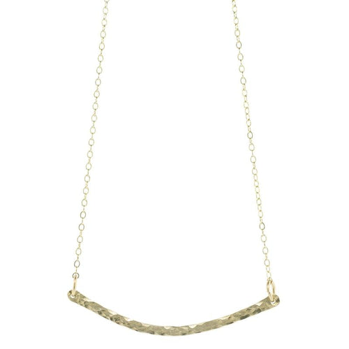 Textured Swing Necklace