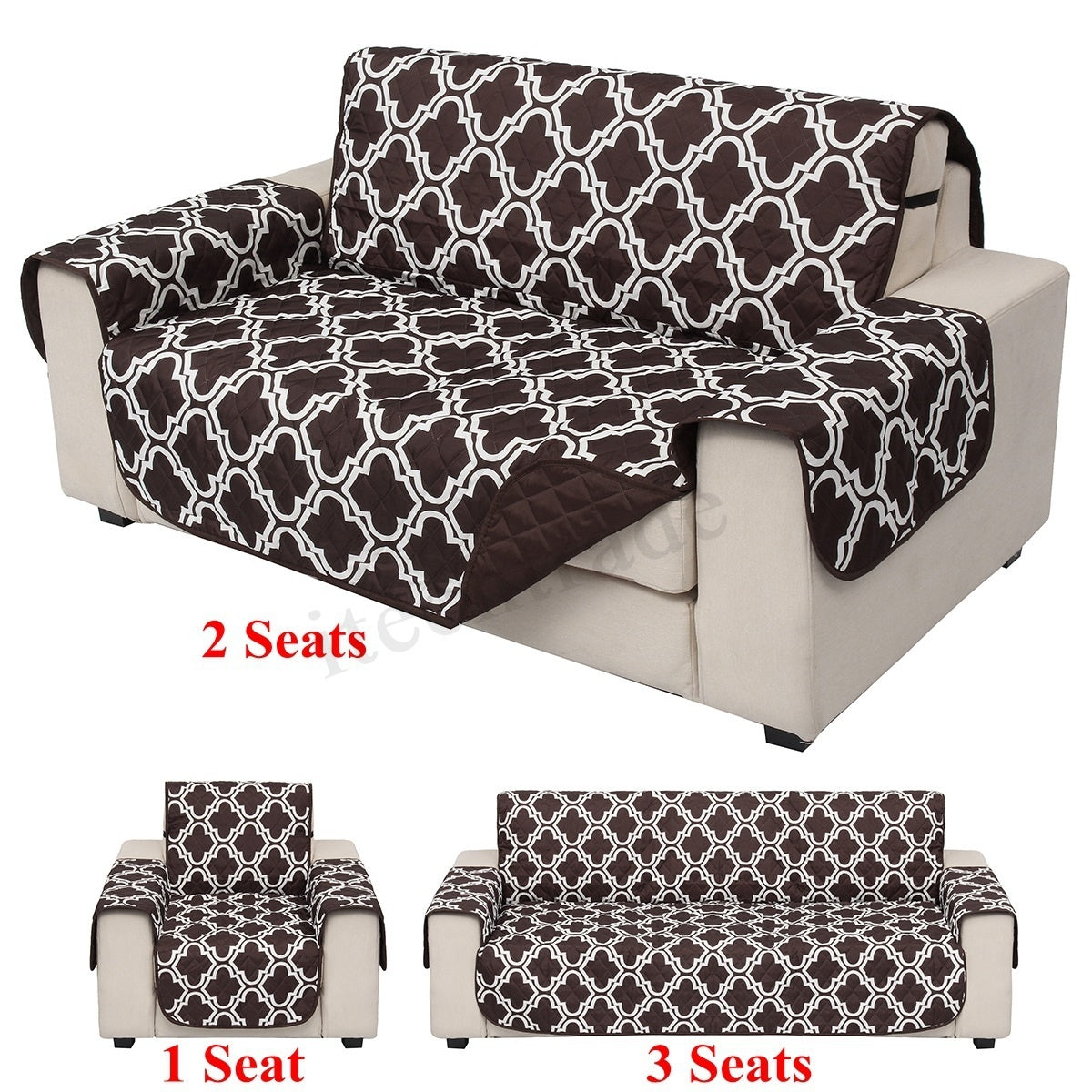Tremendous Black Brown Home Furniturer Single Twin Triple Seater Sofa Slipcovers Art Stretch Elastic Fabric Sofa Cover Pet Dog Cat Gmtry Best Dining Table And Chair Ideas Images Gmtryco
