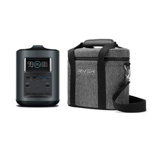 EcoFlow River 370 Travel Bundle - Plug and Play Solar