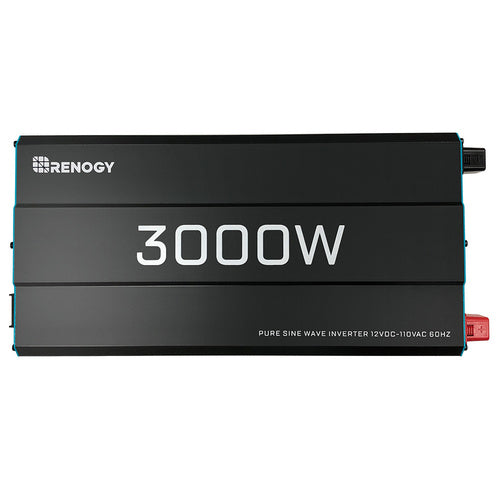 Renogy 3000W 12V Pure Sine Wave Inverter - Plug and Play Solar