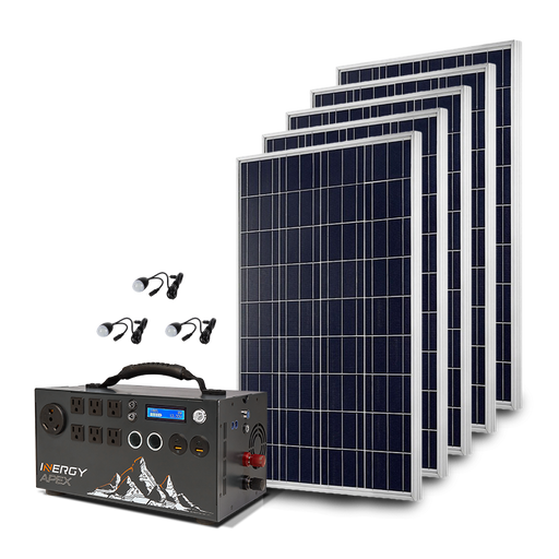 Gold Apex Solar Storm Kit - Plug and Play Solar