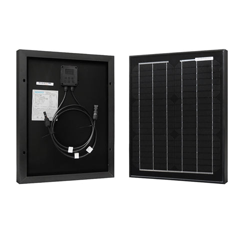 Renogy 20 Watt 12 Volt Monocrystalline Solar Panel - Plug and Play Solar