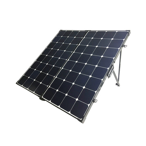 Renogy 200 Watt Eclipse Monocrystalline Solar Suitcase w/o Controller - Plug and Play Solar