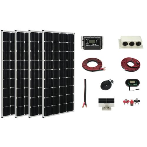 Zamp 680-Watt Deluxe Solar Kit - Plug and Play Solar
