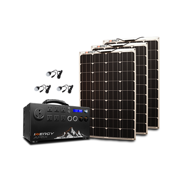 Silver Apex Linx Kit Plug And Play Solar