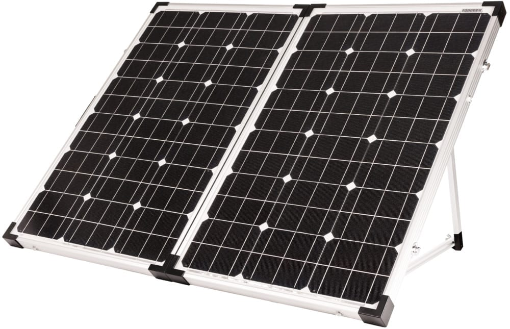 GoPower 130-WATT PORTABLE SOLAR KIT - Plug and Play Solar