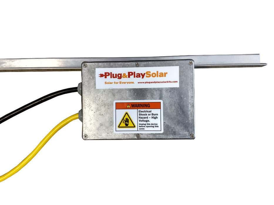 Bring Your Own Solar Panel LEAD Solar Kit [BYOP] - Plug and Play Solar