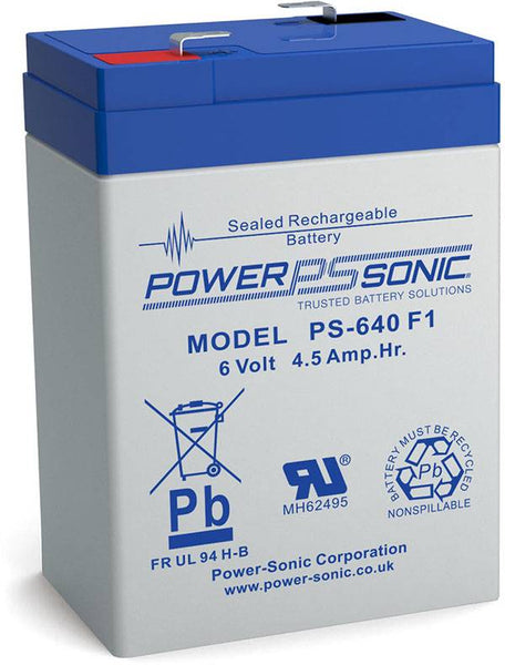 PS-640 F1 Battery