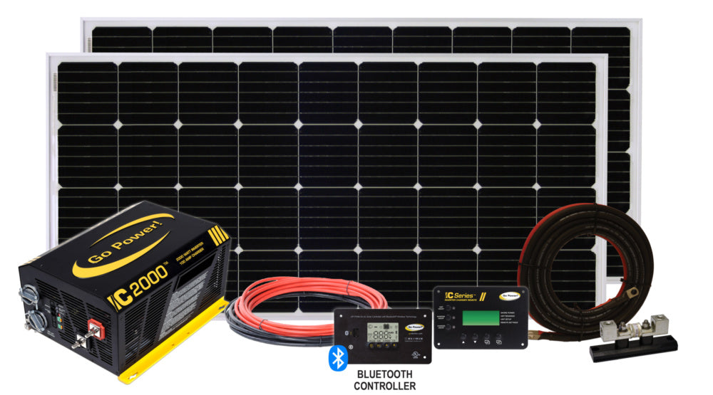SOLAR ELITE CHARGING SYSTEM (380 WATTS) - Plug and Play Solar
