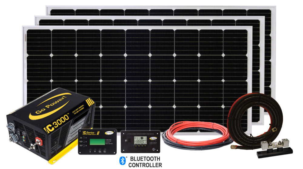 SOLAR EXTREME CHARGING SYSTEM (570 WATTS) - Plug and Play Solar