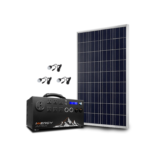 Bronze Apex Solar Storm Kit - Plug and Play Solar