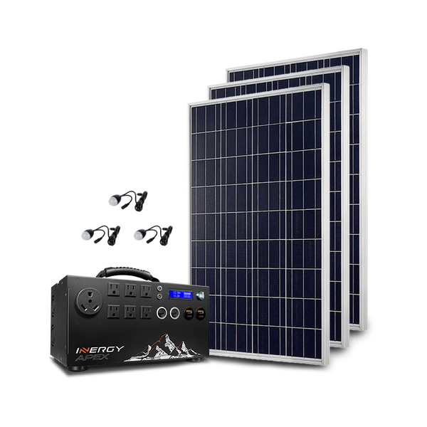 Silver Apex Solar Storm Kit Plug And Play Solar