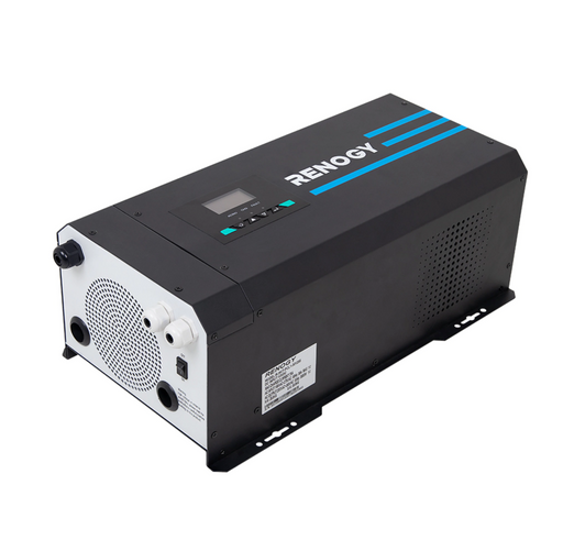 3000W 12V PURE SINE WAVE INVERTER CHARGER W/ LCD DISPLAY - Plug and Play Solar
