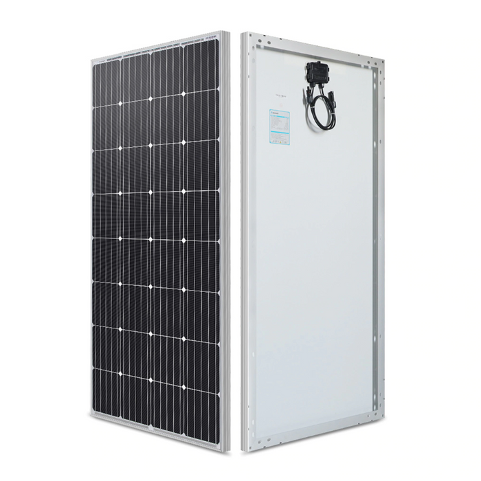 160 Watt 12 Volt Monocrystalline Solar Panel - Plug and Play Solar