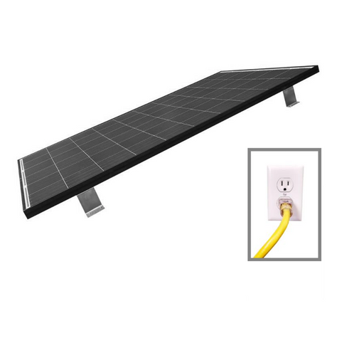 PREMIUM 600W Grid Tied Roof Mount Home Solar Kit (2x 300W Panels) - Plug and Play Solar