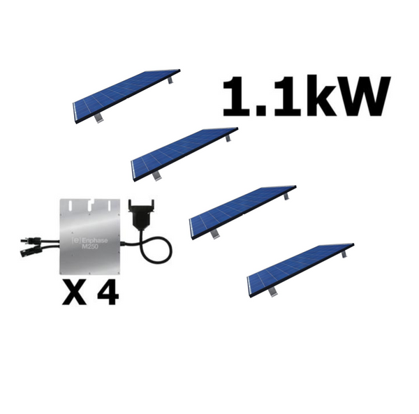 240V Easy Plug 1.1kW Roof Mount Kit