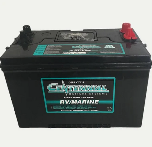 Centennial Marine Deep Cycle Battery DC27MF Group 27 Maintenance Free - Plug and Play Solar