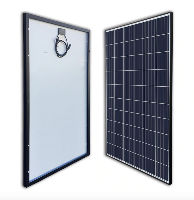 Plug In Solar Ground Mount Add-On Kit - Plug and Play Solar