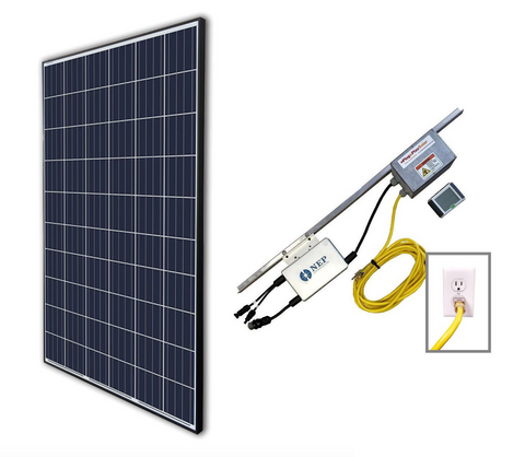 Plug In Solar Ground Mount Lead Kit