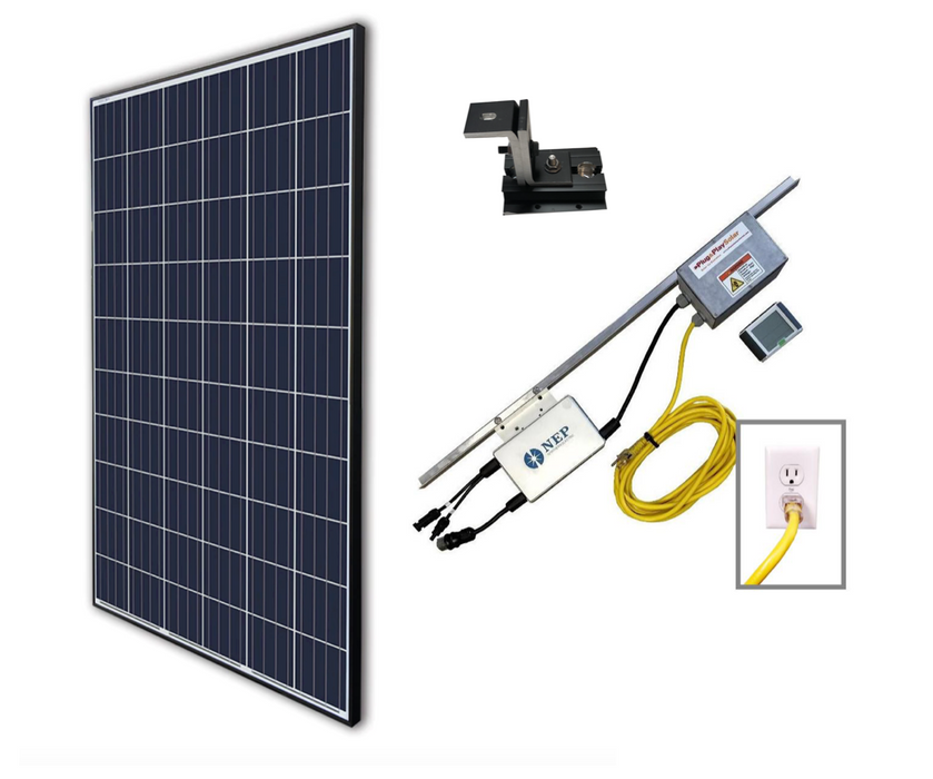 Plug In Solar Roof Mount Lead Kit - Plug and Play Solar