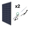 Plug In Roof Mount Add-On Solar Kits (2)