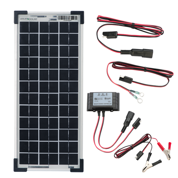 10-Watt Solar Maintainer Kit