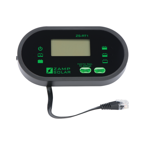 Digital Remote LCD Display (ZS-RT1) - Plug and Play Solar