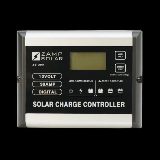 30 Amp 5-Stage Deluxe Digital PWM - Plug and Play Solar