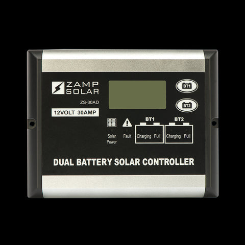 30 Amp 5-Stage Dual Battery Deluxe Digital PWM