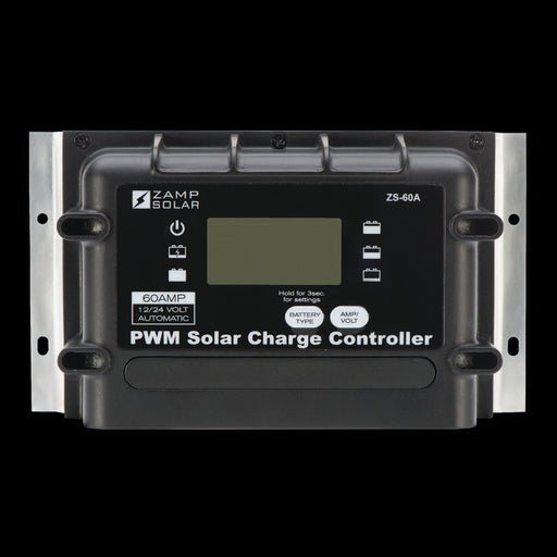 60 Amp 5-Stage Deluxe Digital PWM With Remote Display - Plug and Play Solar