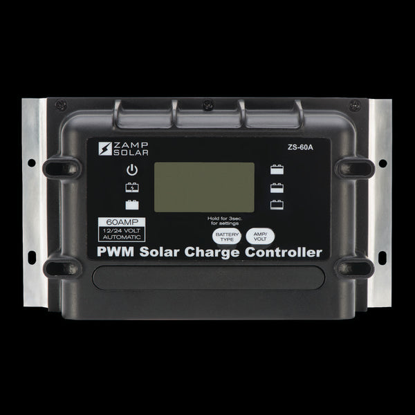 60 Amp 5-Stage Deluxe Digital PWM With Remote Display