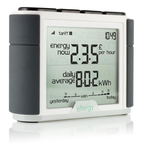 Elite Classic Efergy Monitor - Plug and Play Solar