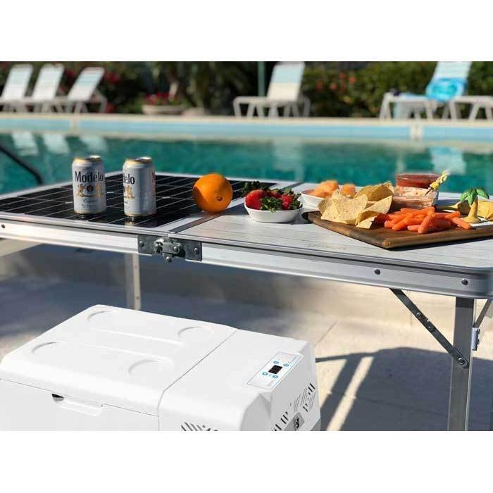 Chill + Solar Charging Table - Plug and Play Solar